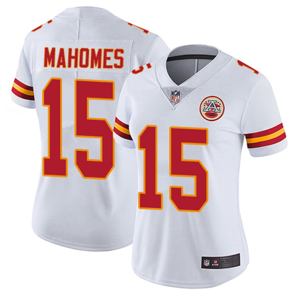 Majestic Athletic Women's Patrick Mahomes II Kansas City Chiefs #15 Limited Jersey