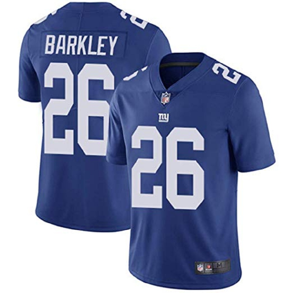 Majestic Athletic Saquon Barkley Royal New York Giants #26 Men's Limited Jersey