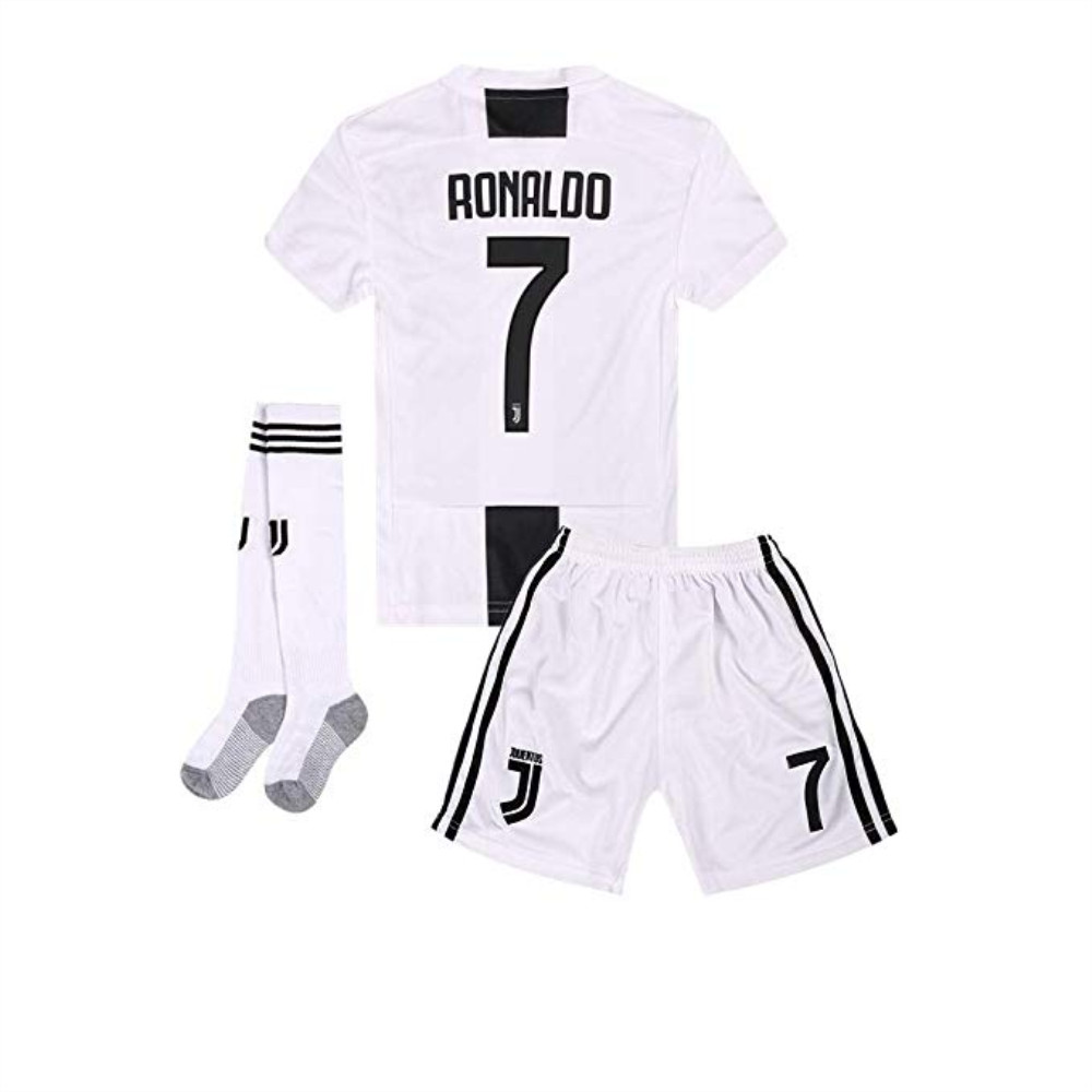 huge selection of 11d30 a8ded 2018-2019 Home C Ronaldo #7 Juventus Kids Or Youth Soccer ...