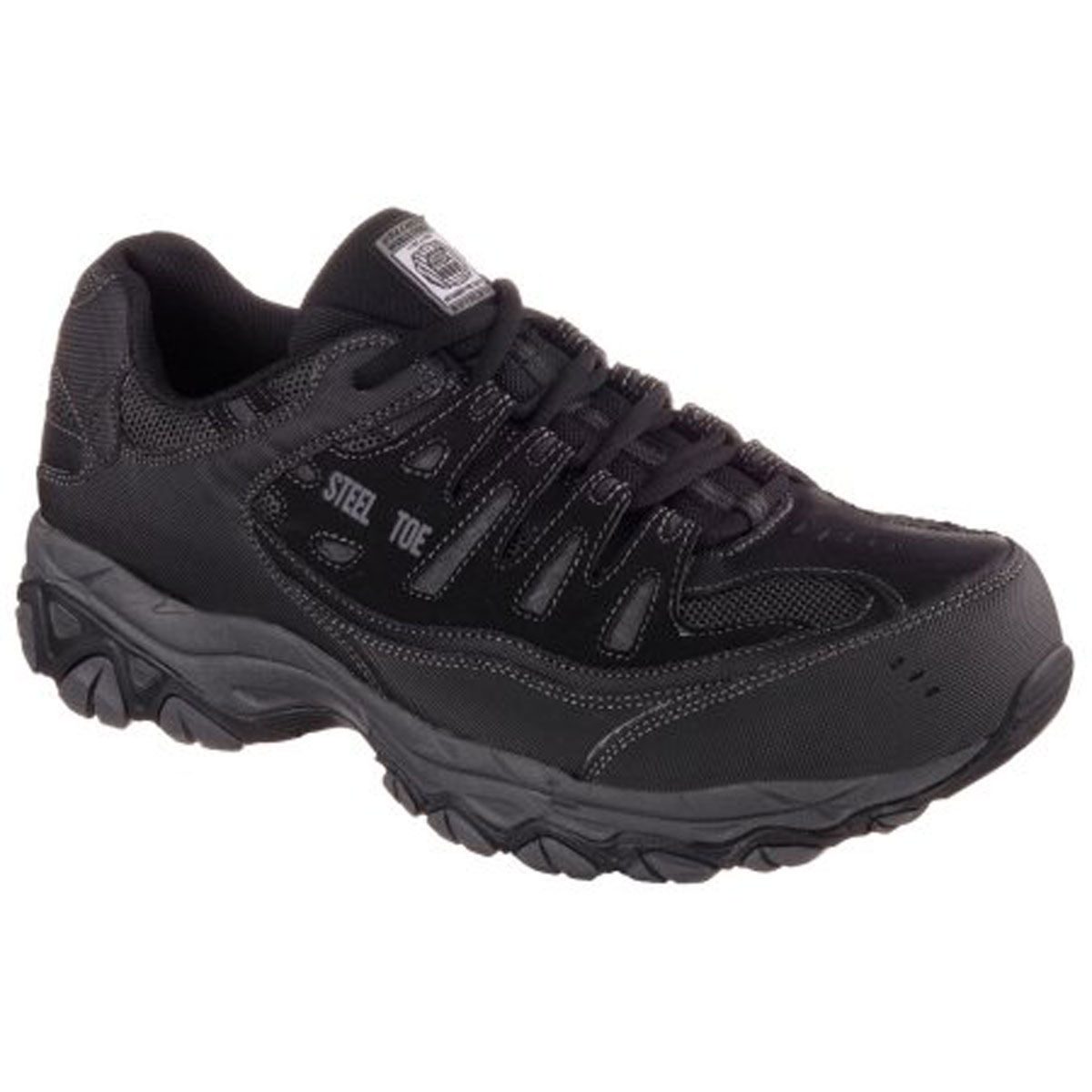 Skechers Crankton St Relaxed Fit Mens Wide Width Work Shoe