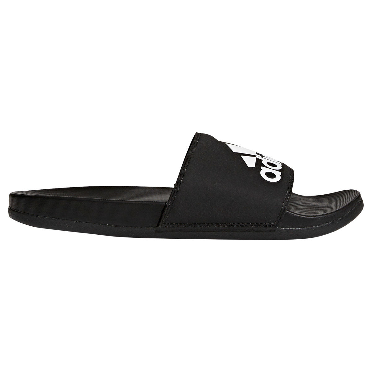 adidas Adilette Cloudfoam Plus Logo Mens Slide