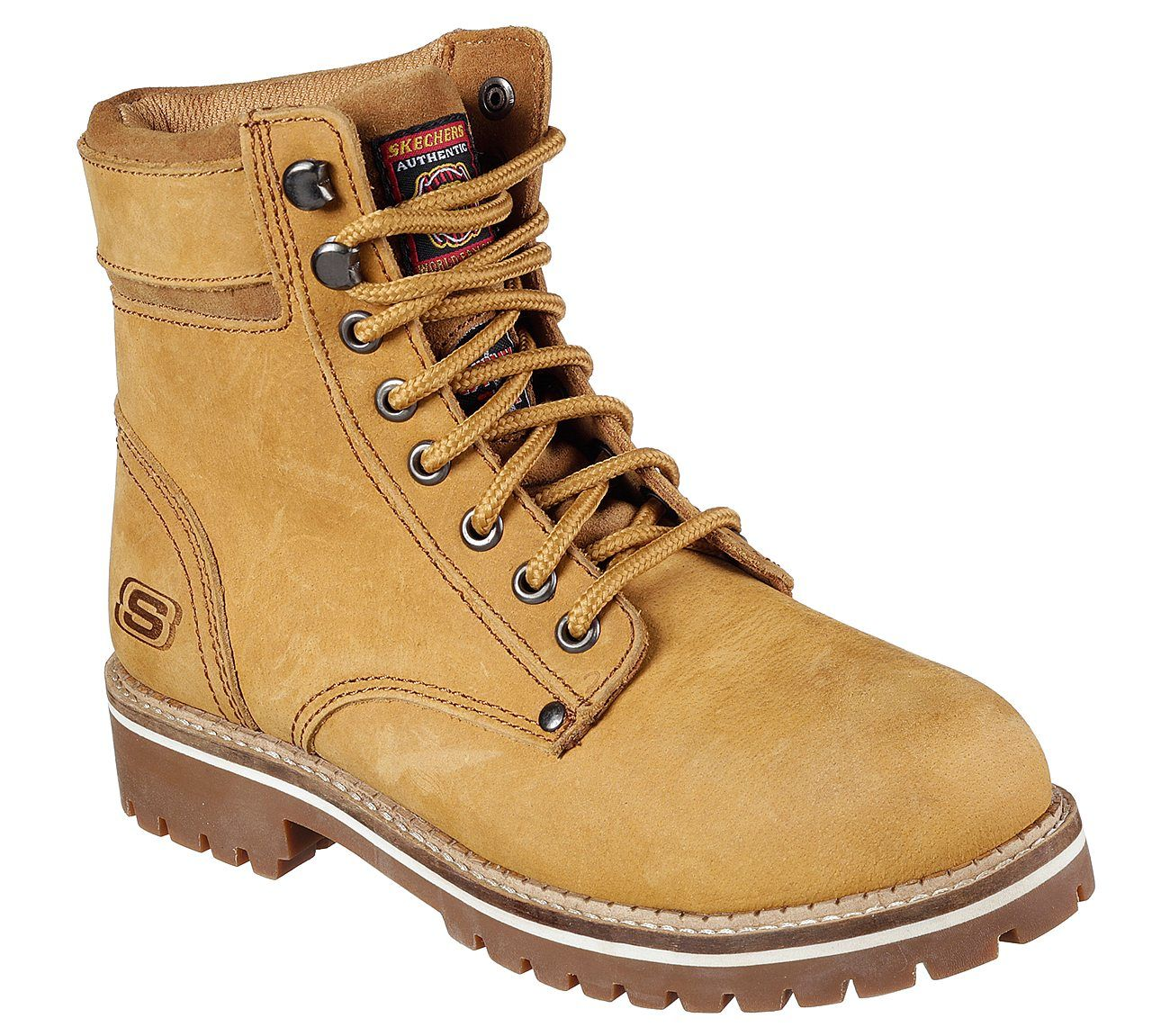 Skechers Womens Brooten Steel Toe Boot