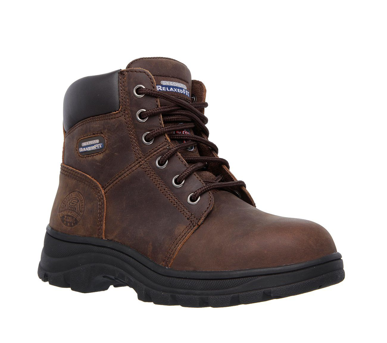 Skechers Womens Workshire Peril Steel Toe Boot