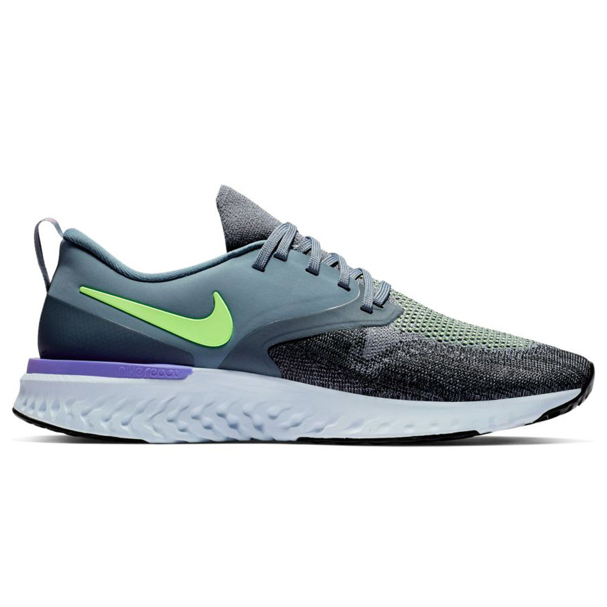 Nike Odyssey React 2 Flyknit Mens Running Shoe