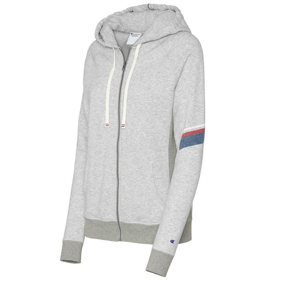 Champion Heritage French Terry Womens Full Zip Hoodie