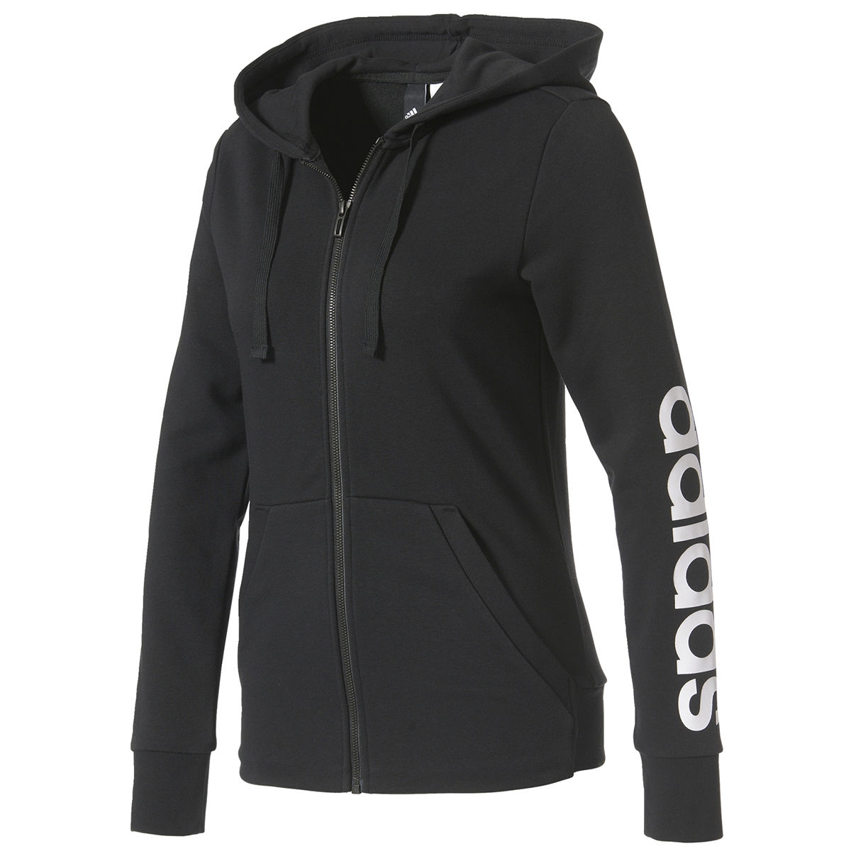 adidas Essential Full-Zip Womens Hoodie