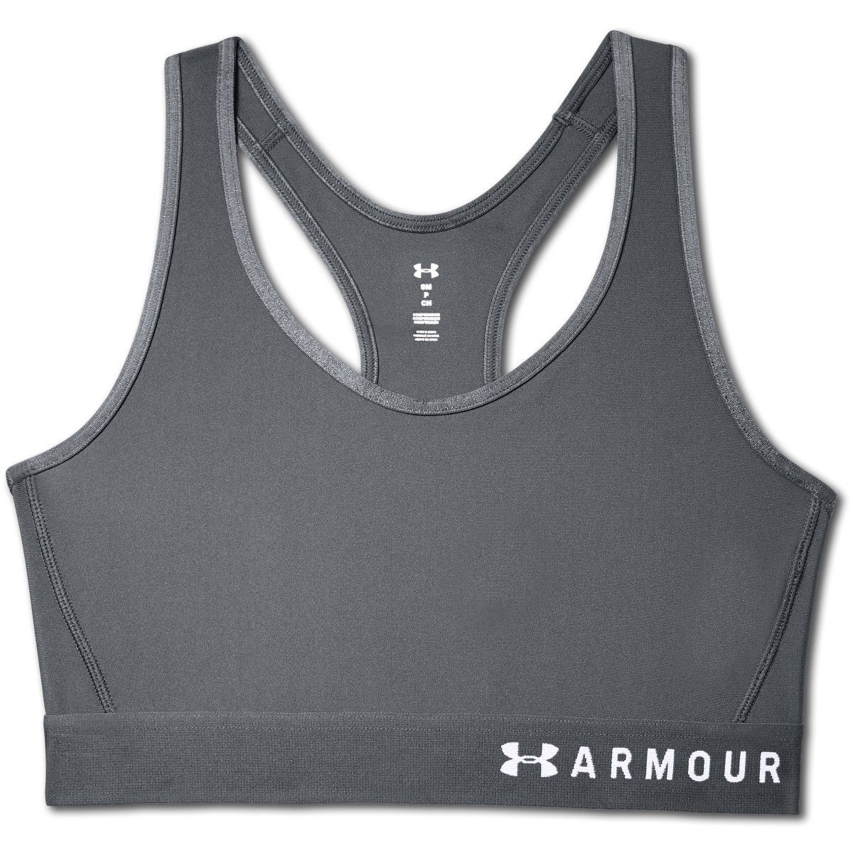 Under Armour Mid Keyhole Womens Sports Bra