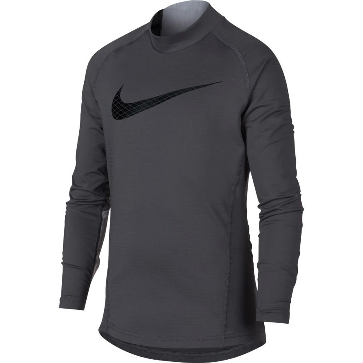 Nike Pro Warm Boys Long Sleeve Mock Neck Top