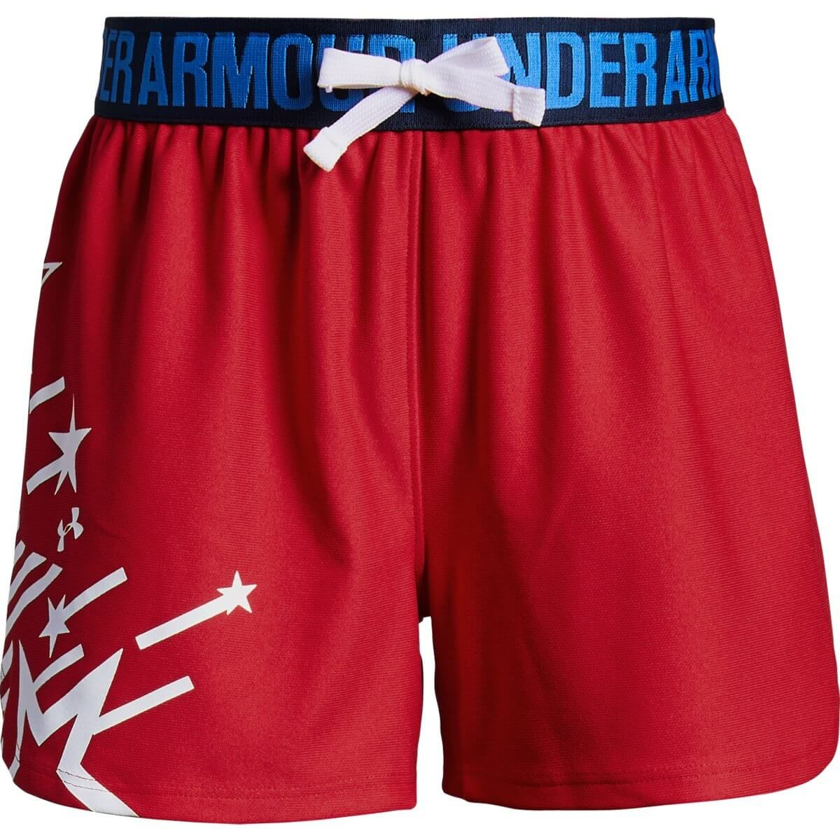 Under Armour Play Up Girls Americana Short