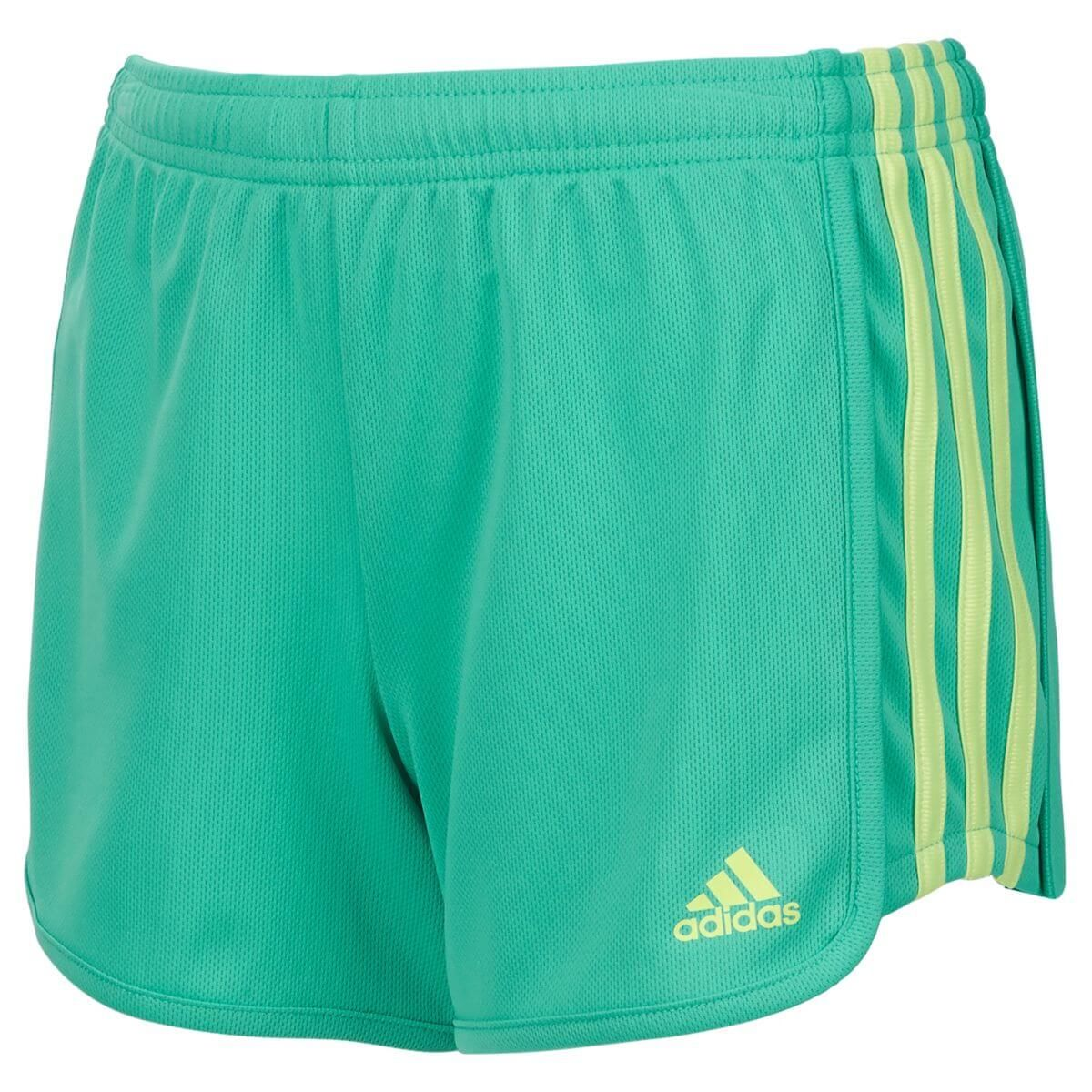 adidas 3 Stripes Girls Mesh Short