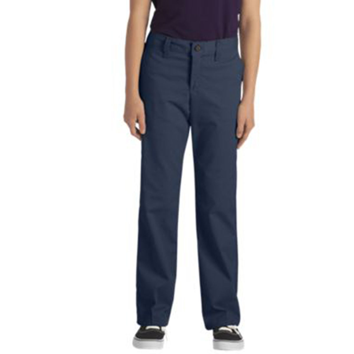 Dickies Girls Straight Leg Stretch Twill Pant (Size 4-6X)