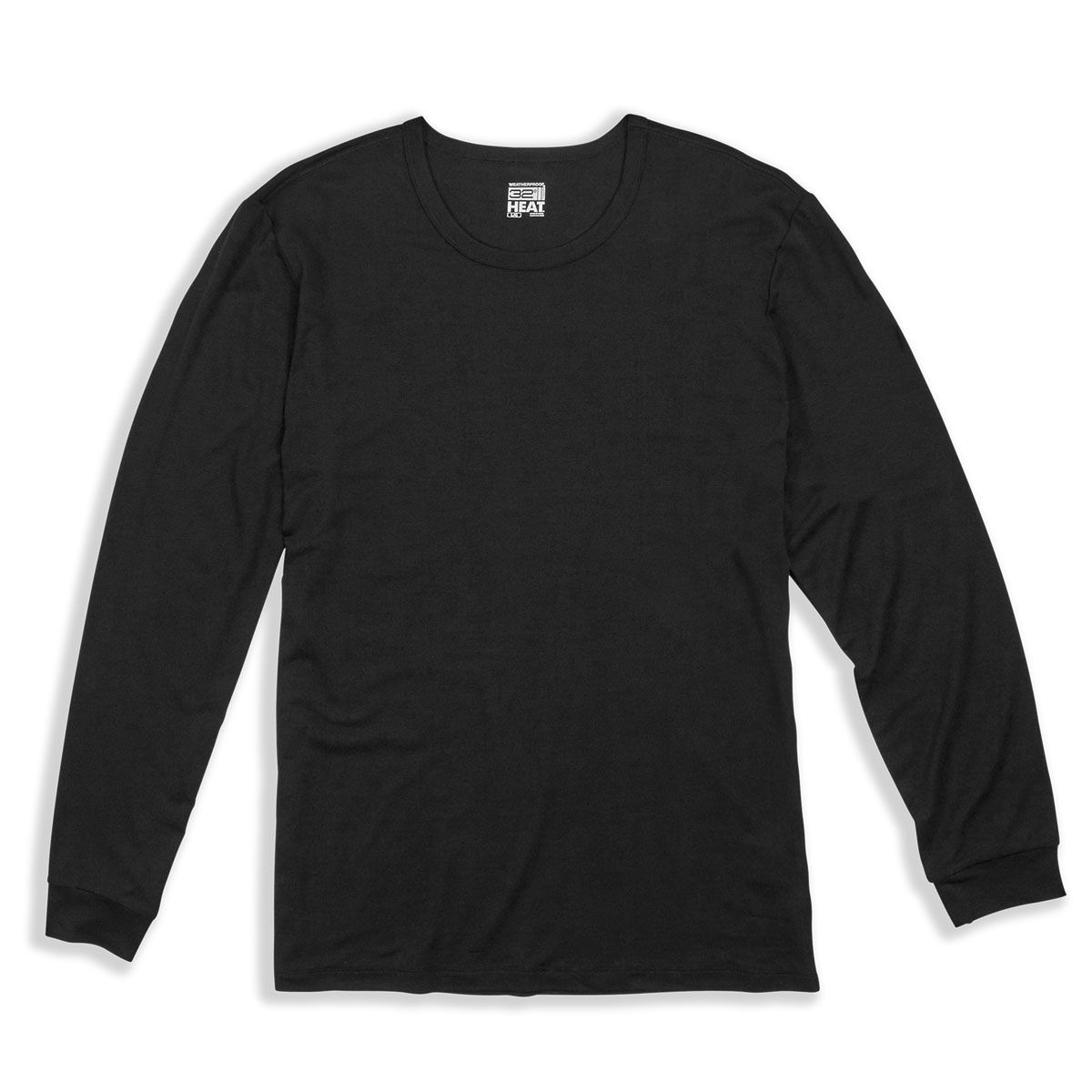 32 Degrees Mens Heat Plus Thermal Long Sleeve Crew