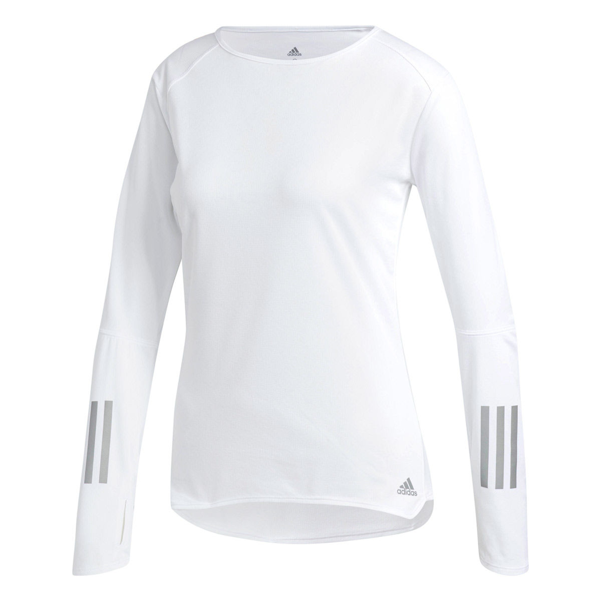 adidas Response Womens Long Sleeve Running Shirt [MSRP: $40.00]