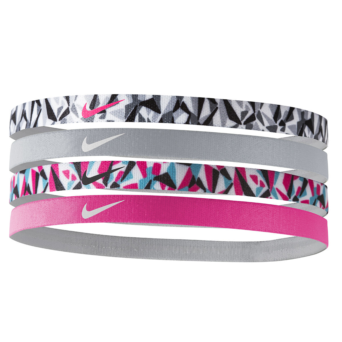 Nike Assorted 4-Pack Girls Headbands