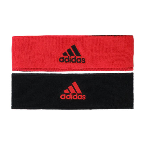 adidas Interval Red/Black Reversible Headband