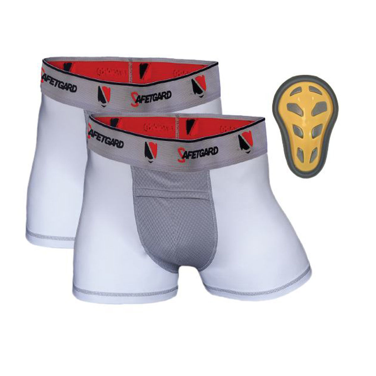 Safe T-Gard Pee Wee 2 Pack Boxer Briefs with Cage Cup
