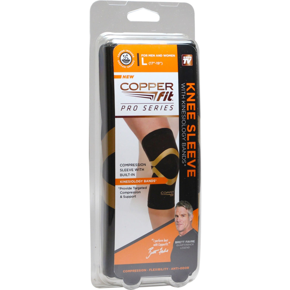 CopperFit Pro Series Knee Sleeve Size Extra Large