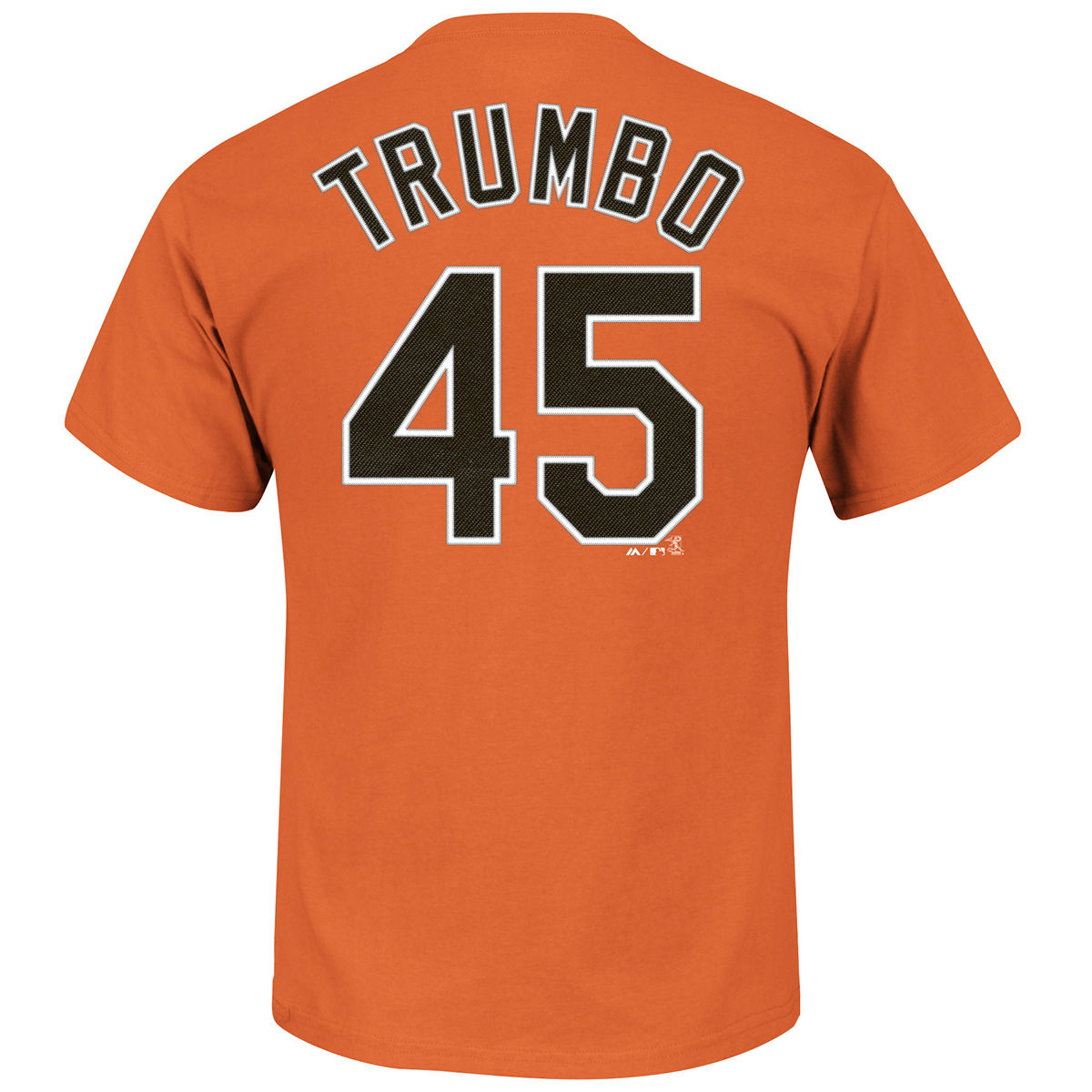 Baltimore Orioles Adult Mark Trumbo Name & Number T-Shirt