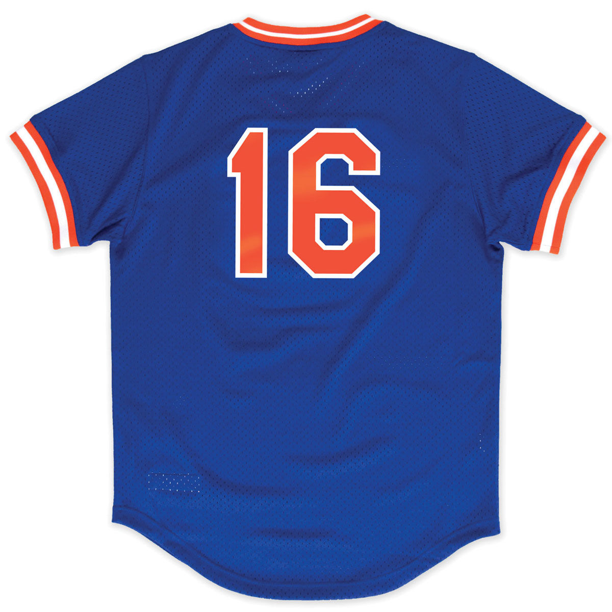 New York Mets Adult Dwight Gooden V Neck Mesh Jersey