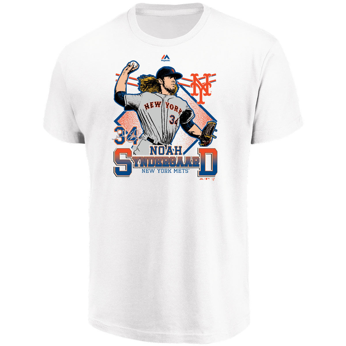 New York Mets Adult Fan T-Shirt