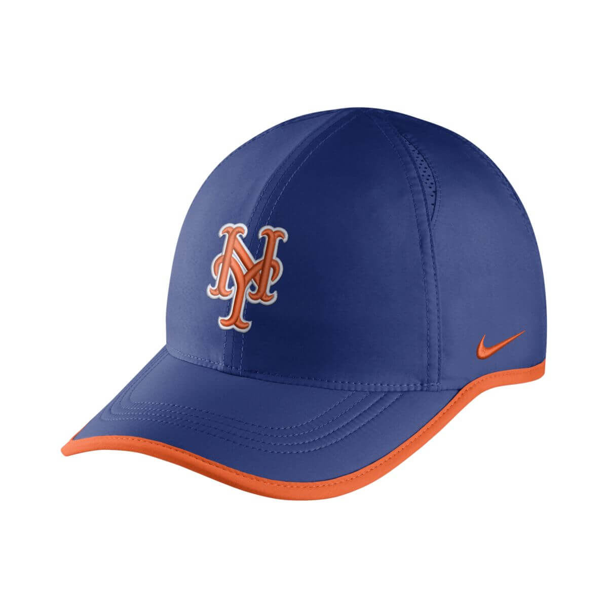 New York Mets Adult 2018 Featherlight Adjustable Hat