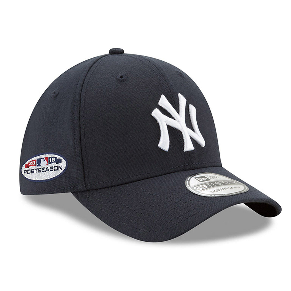New York Yankees Adult Postseason 39THIRTY Stretch Fit Hat