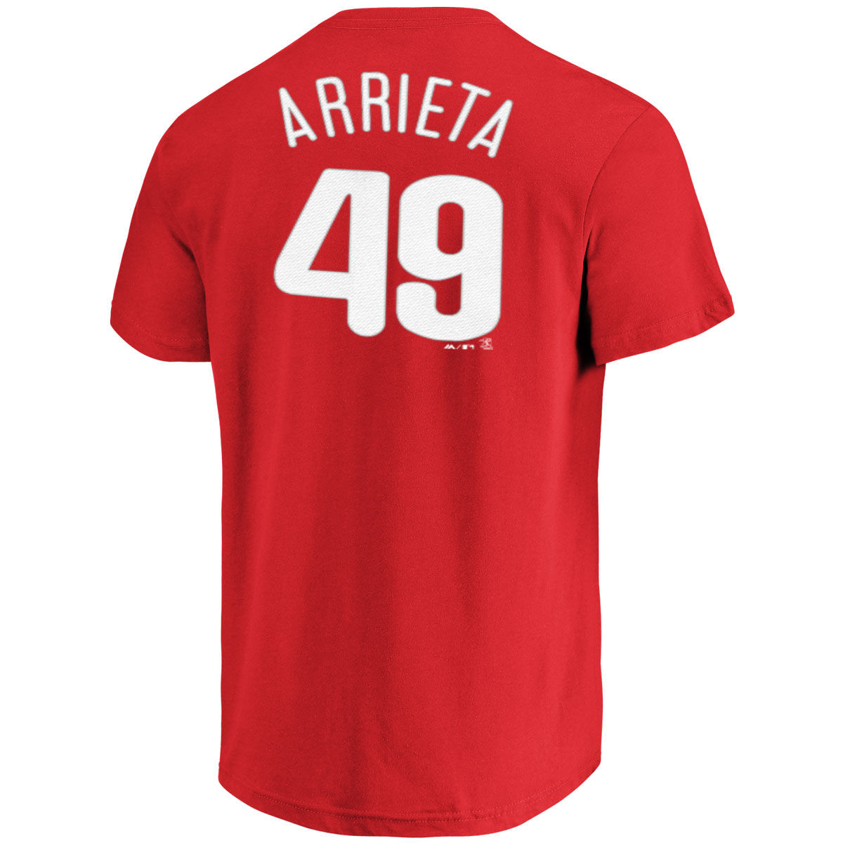 Philadelphia Phillies Adult Jake Arrieta Name & Number T-Shirt