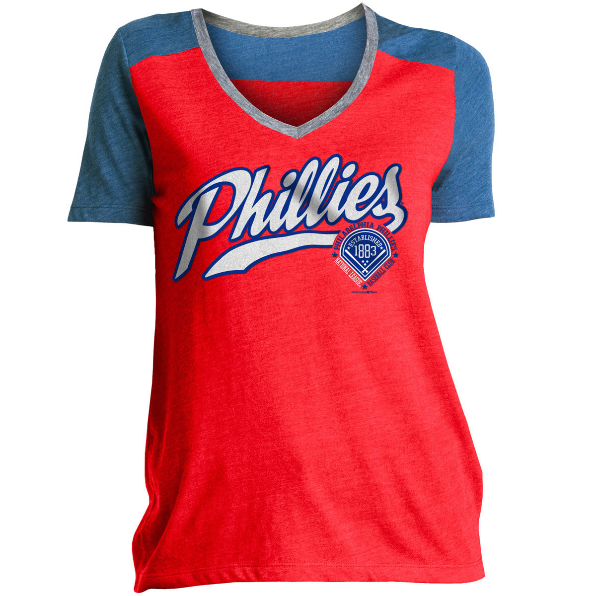 Philadelphia Phillies Womens Graphic T-Shirt