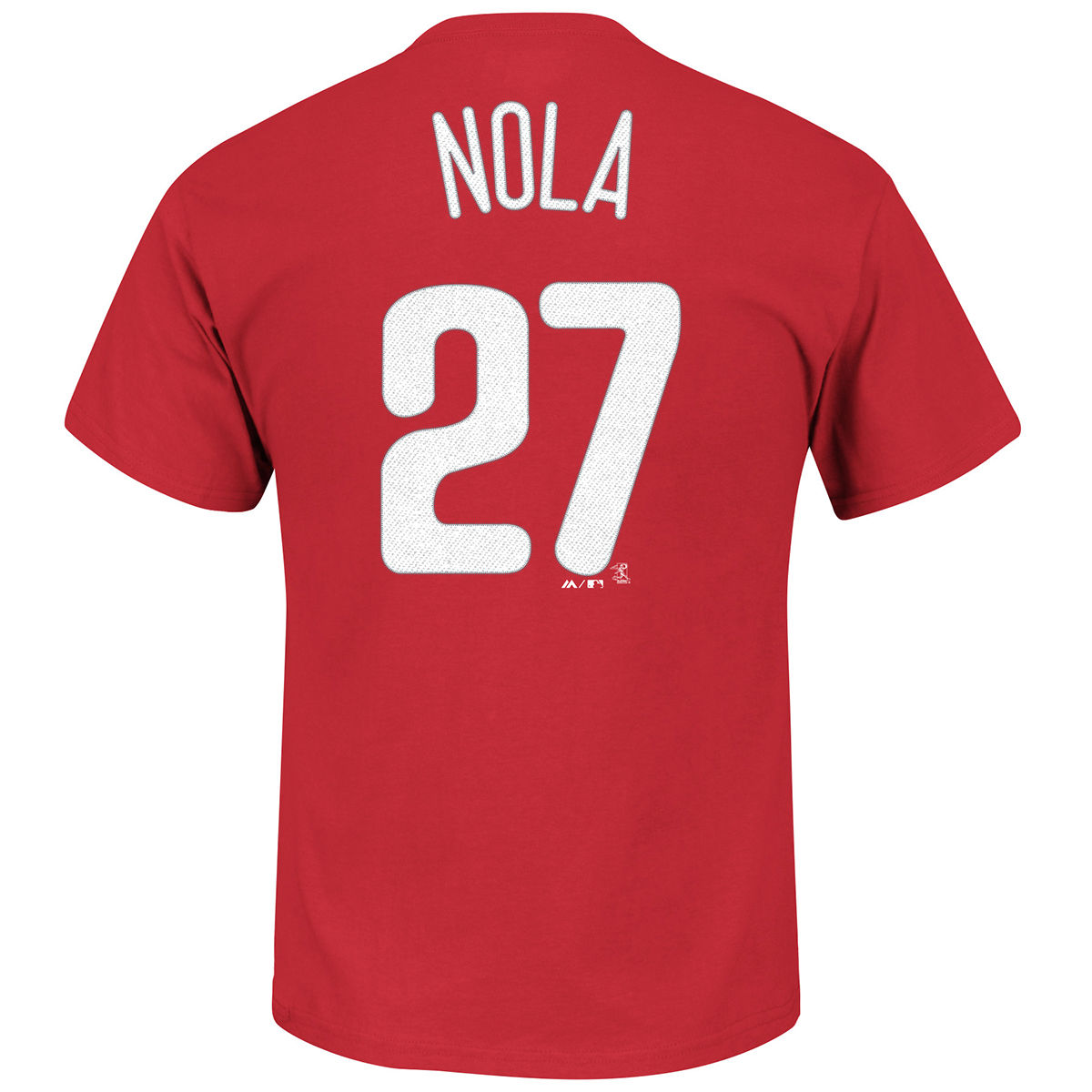 Philadelphia Phillies Adult Aaron Nola Name & Number T-Shirt