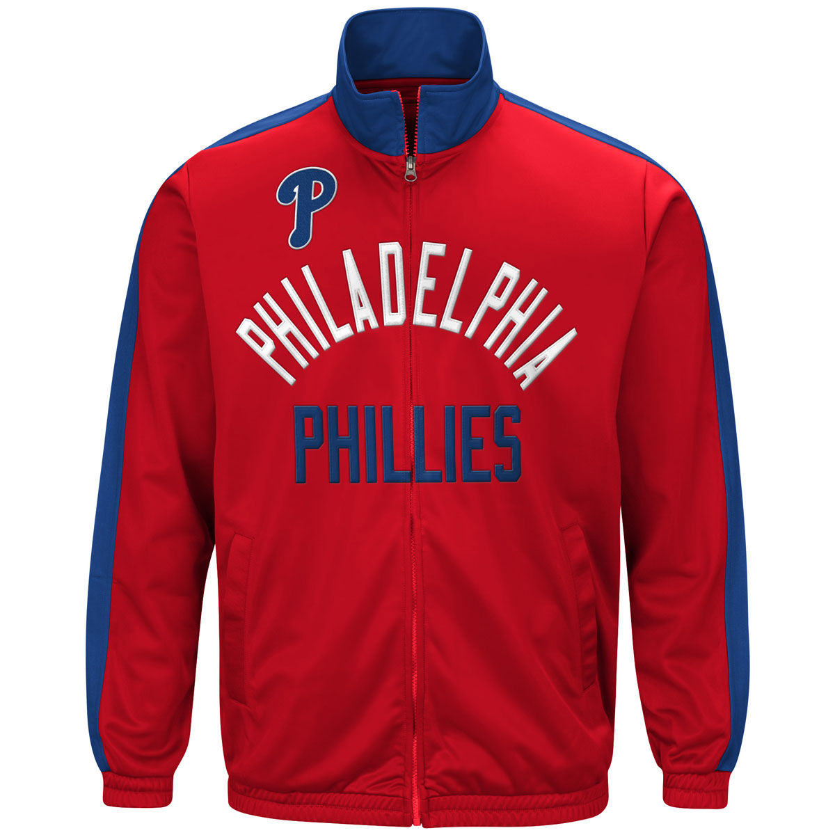 Philadelphia Phillies Adult Starter Track Jacket