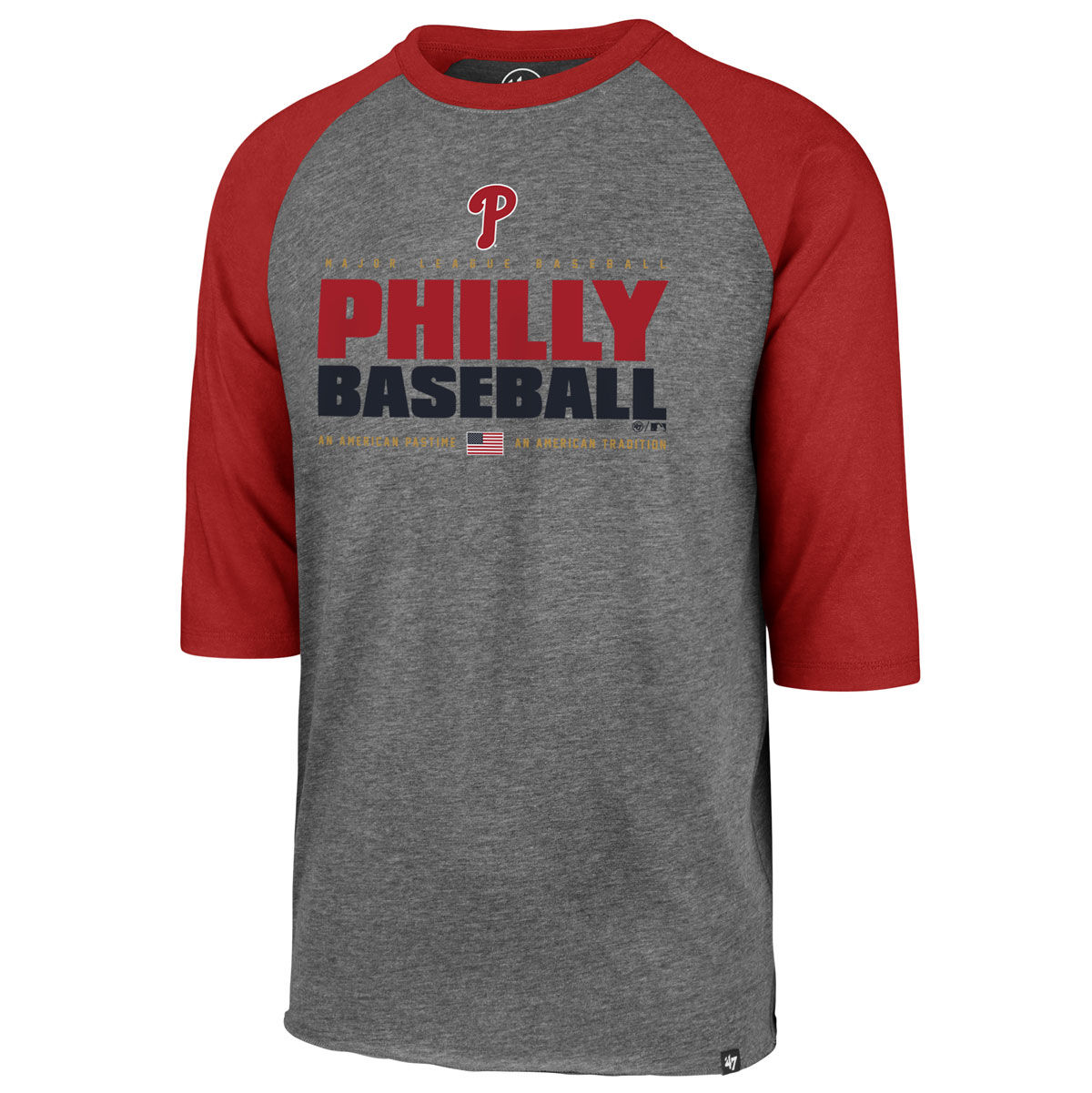 Philadelphia Phillies Adult Raglan T-Shirt