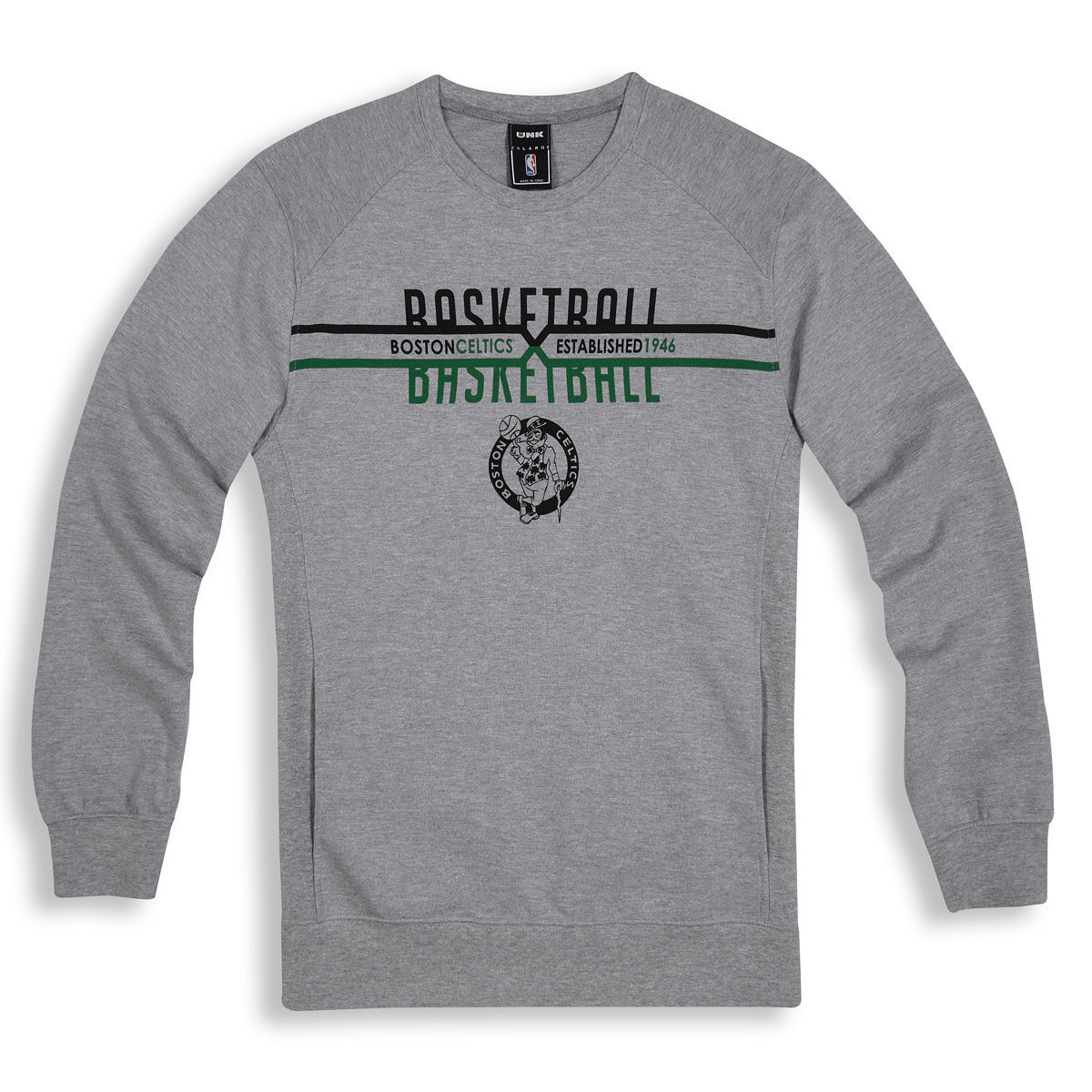 Boston Celtics Adult Crew Sweatshirt