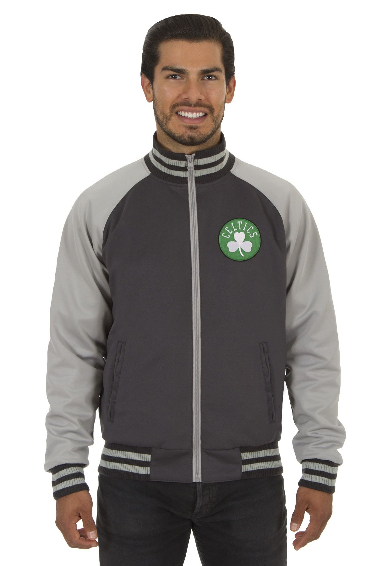 Boston Celtics Adult Polyester Reversible Track Jacket