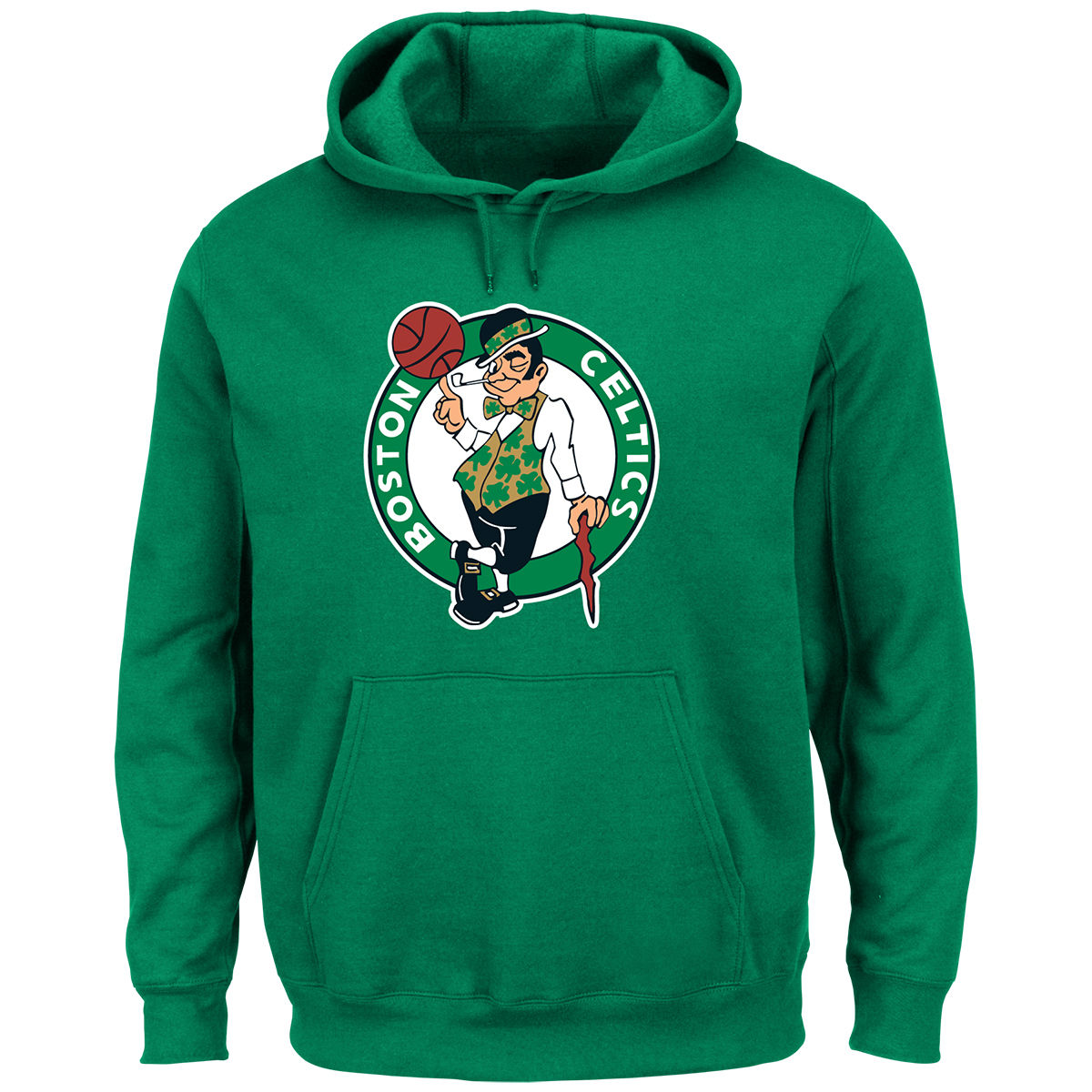 Boston Celtics Adult Tek Patch Hoodie