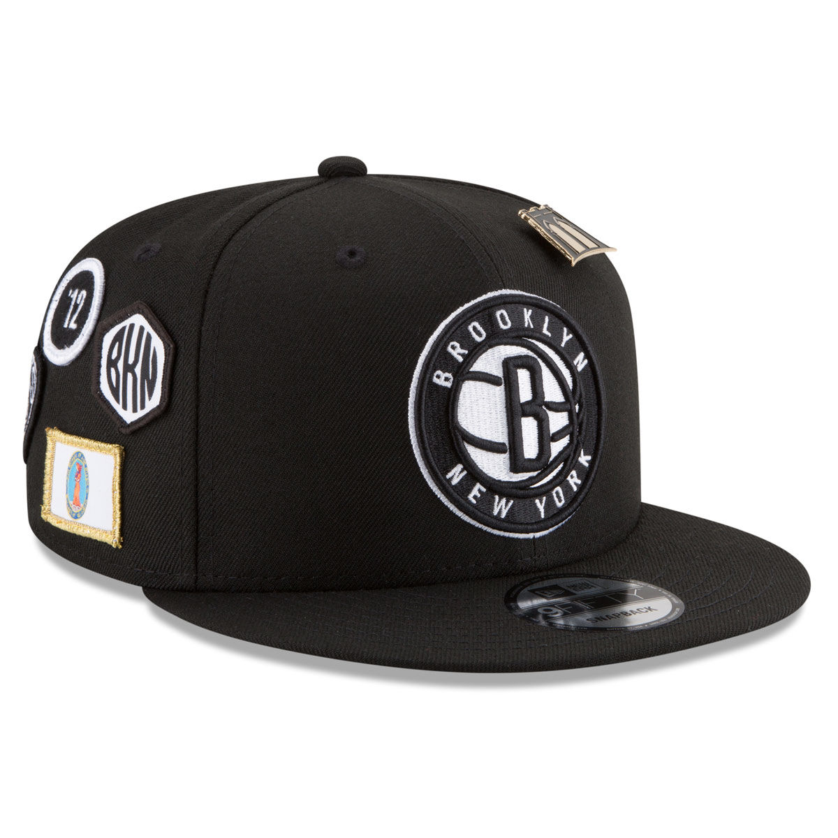 Brooklyn Nets Adult 2018 NBA Draft 9FIFTY Snapback Hat