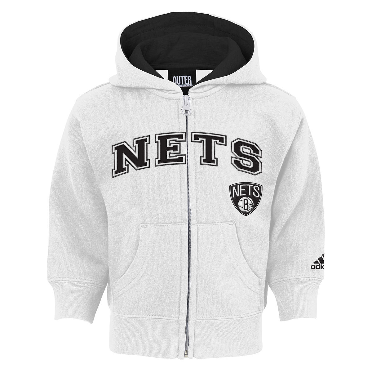 Brooklyn Nets Infant Full Zip Hoodie