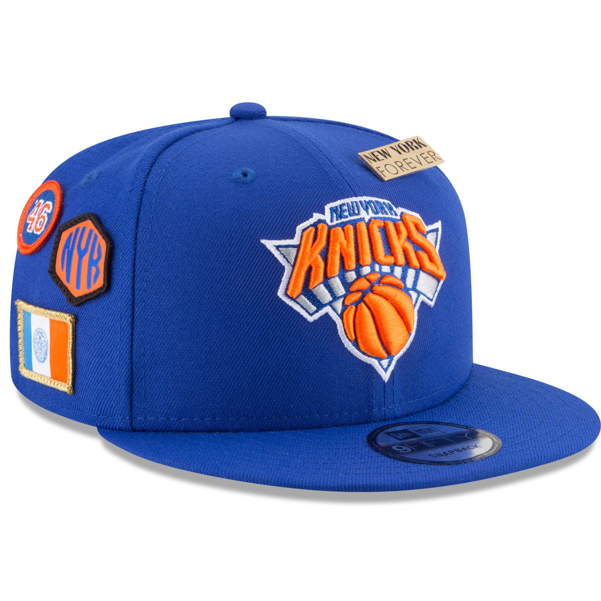 New York Knicks Adult 2018 NBA Draft 9FIFTY Snapback Hat