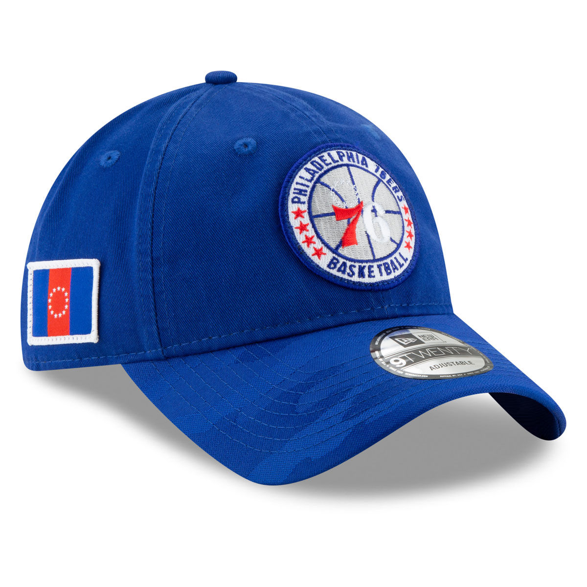 Philadelphia 76ers Adult 9TWENTY Tip Off Adjustable Hat