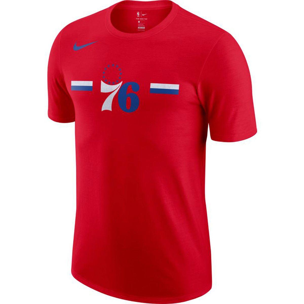 Philadelphia 76ers Adult Logo T-Shirt