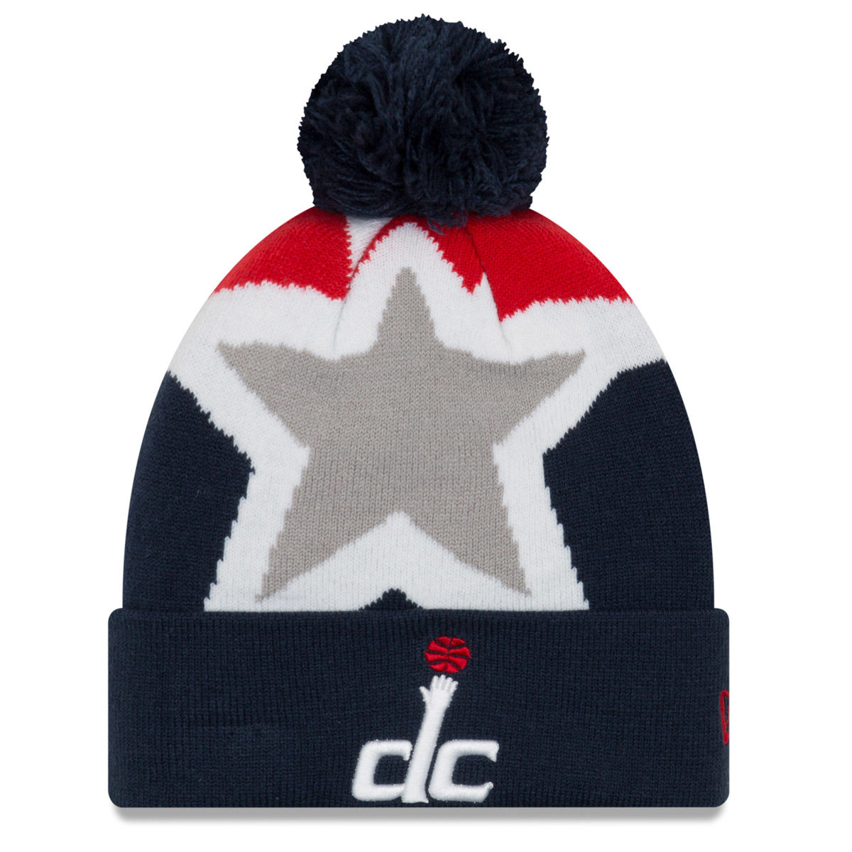 Washington Wizards Adult 2018 Pom Knit Hat