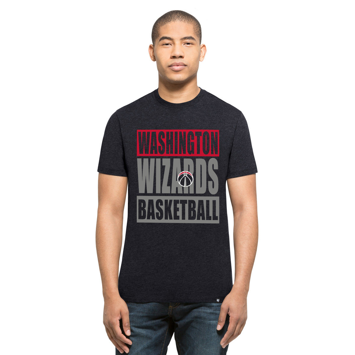 Washington Wizards Adult Block T-Shirt
