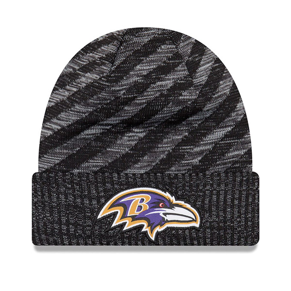 Baltimore Ravens Adult 2018 Sideline Cold Weather Knit Hat