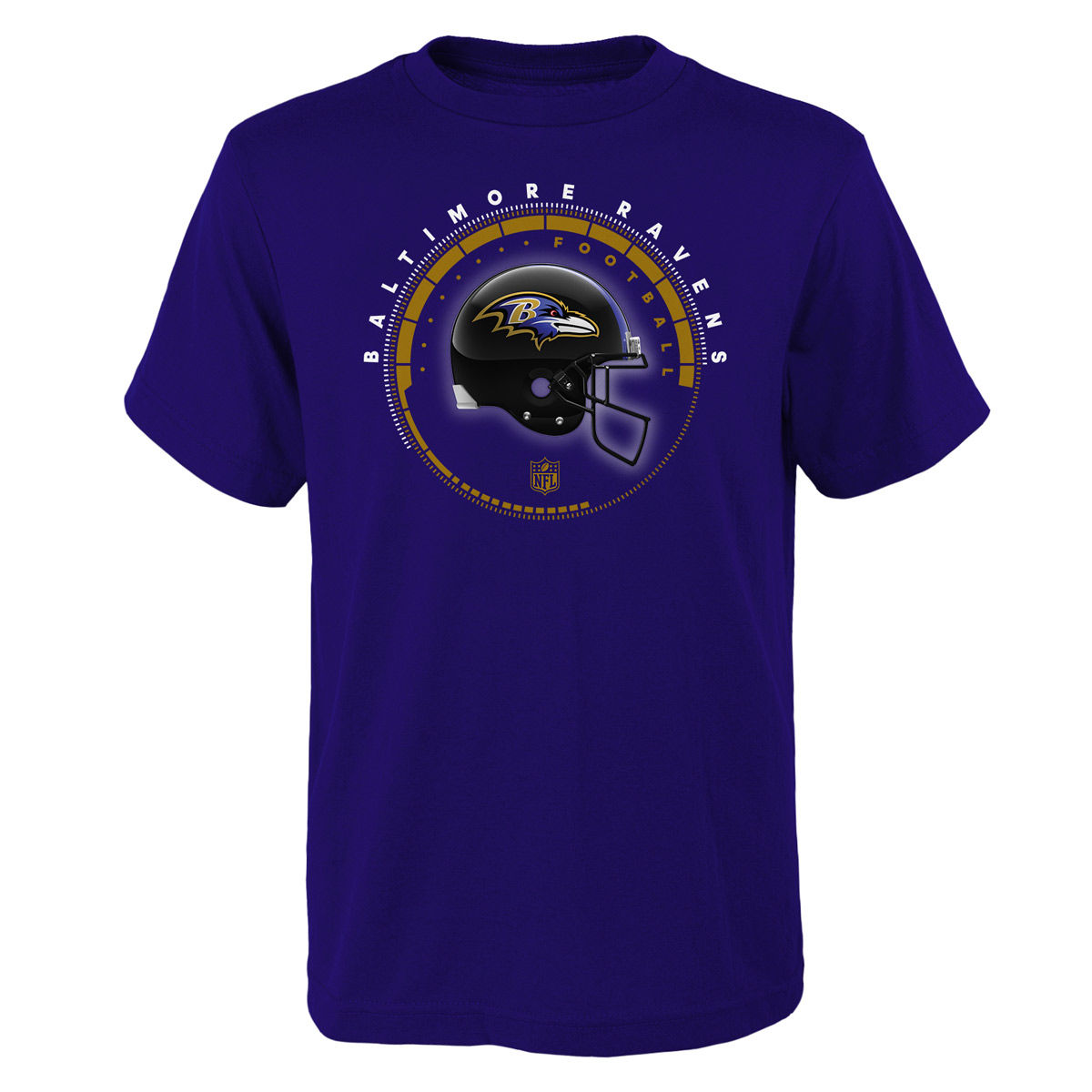 Baltimore Ravens Youth Helmet Time T-Shirt