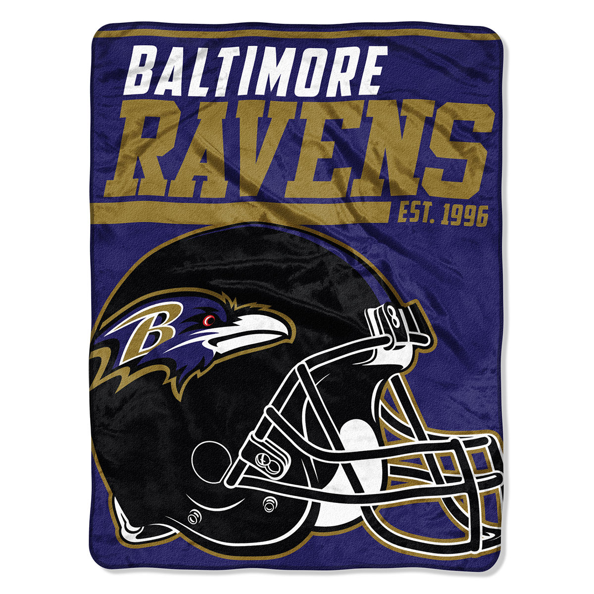 Baltimore Ravens Plush Blanket
