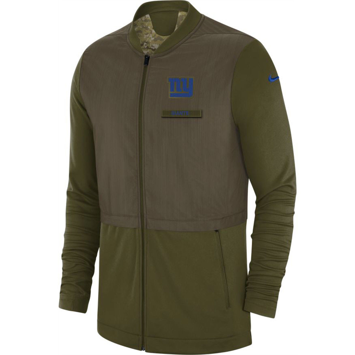 New York Giants Adult 2018 Salute To Service Hybrid Jacket