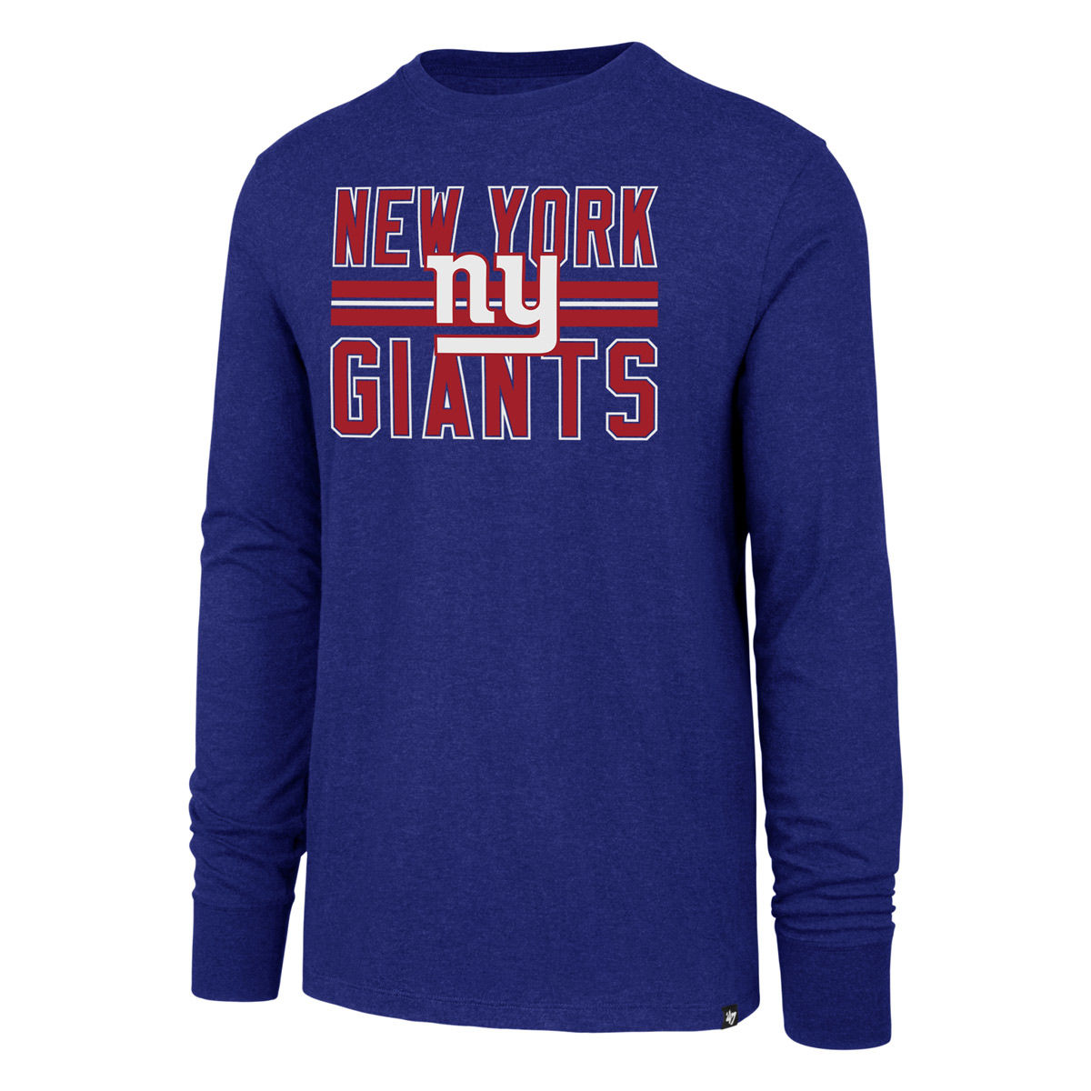 New York Giants Adult Long Sleeve T-Shirt