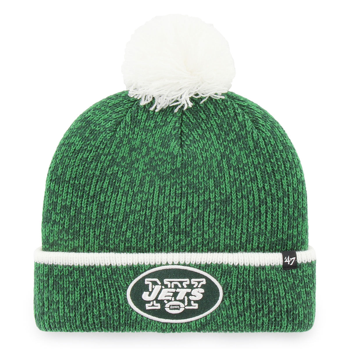 New York Jets Adult 2018 Fairbanks Pom Knit Hat