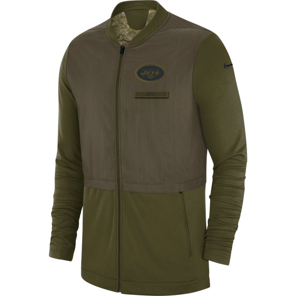New York Jets Adult 2018 Salute To Service Hybrid Jacket