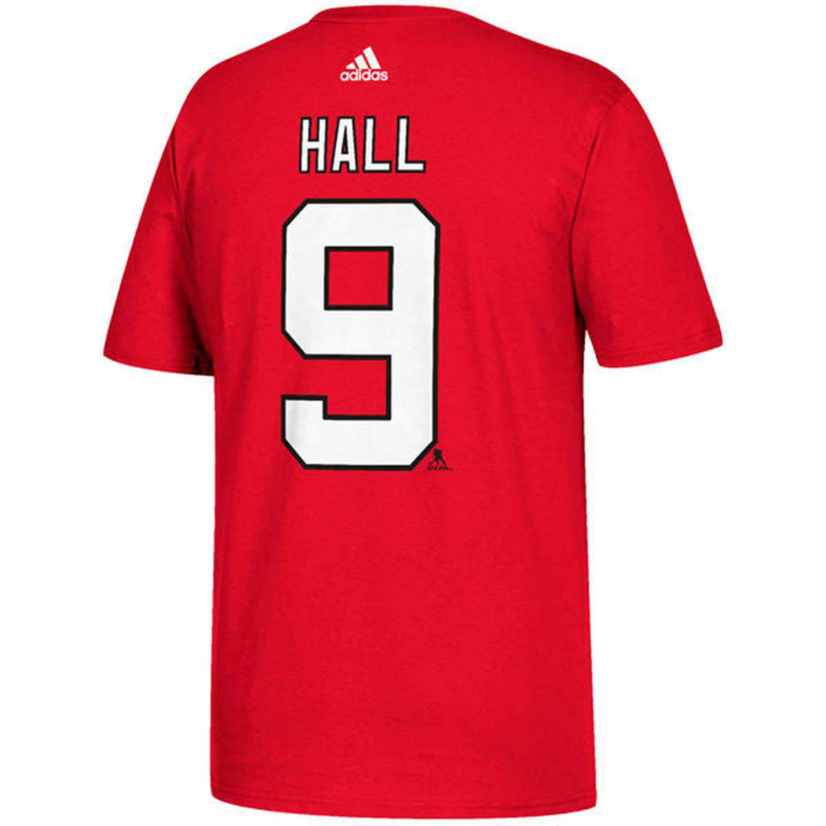 New Jersey Devils Adult Taylor Hall Name & Number T-Shirt