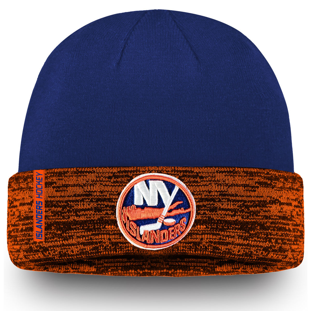 New York Islanders Adult 2018 Rinkside Cuffed Knit Beanie
